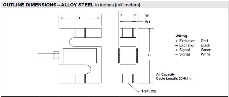 STC系列美国Celtron称重传感器参数